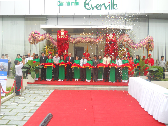 ecisaigon-khai trương căn hộ mẫu everville