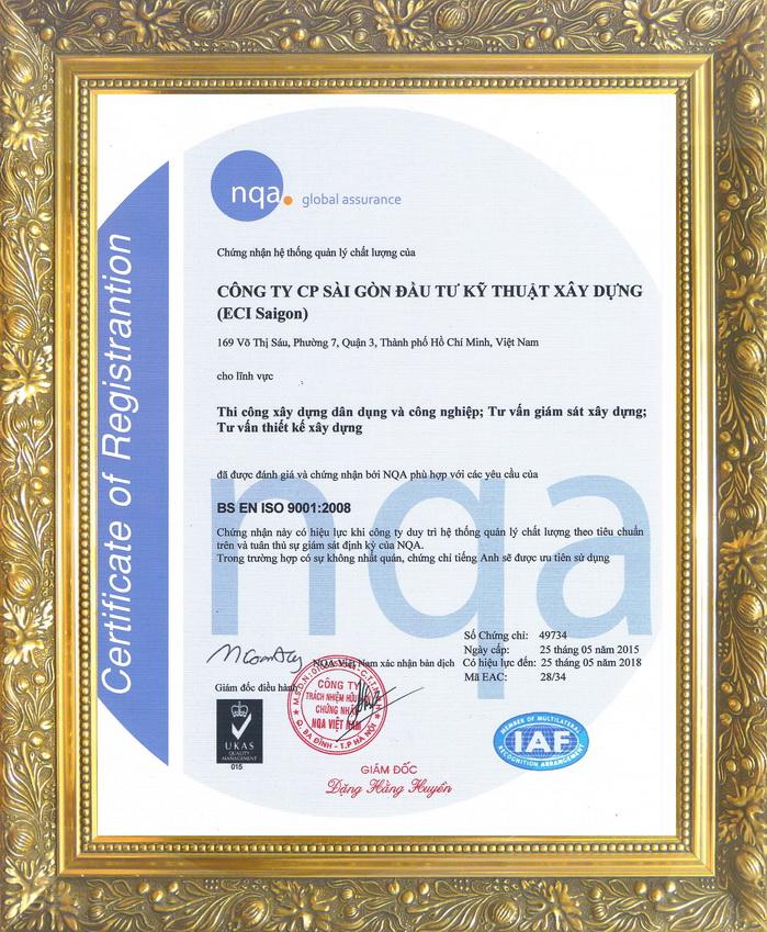 eci saigon-ISO 9001:2008