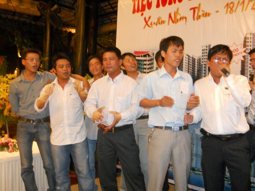 eci saigon-tiệc tổng kết tất niên xuân nhâm thìn 2012