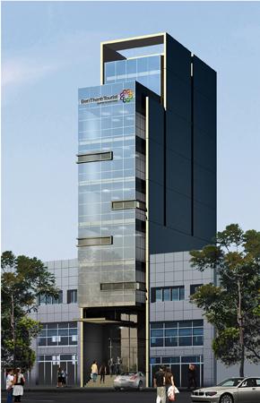 eci saigon-khởii công xây dựng-nhà văn phòng trung tâm dịch vụ lữ hành